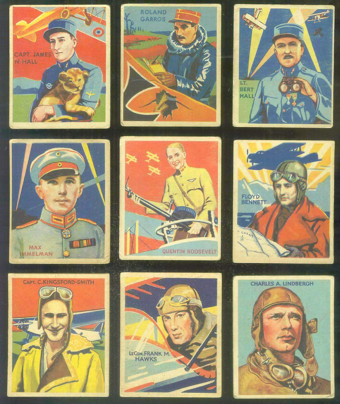 1933-34 Sky Birds #.34 Frank M. Hawks Non-Sport cards value