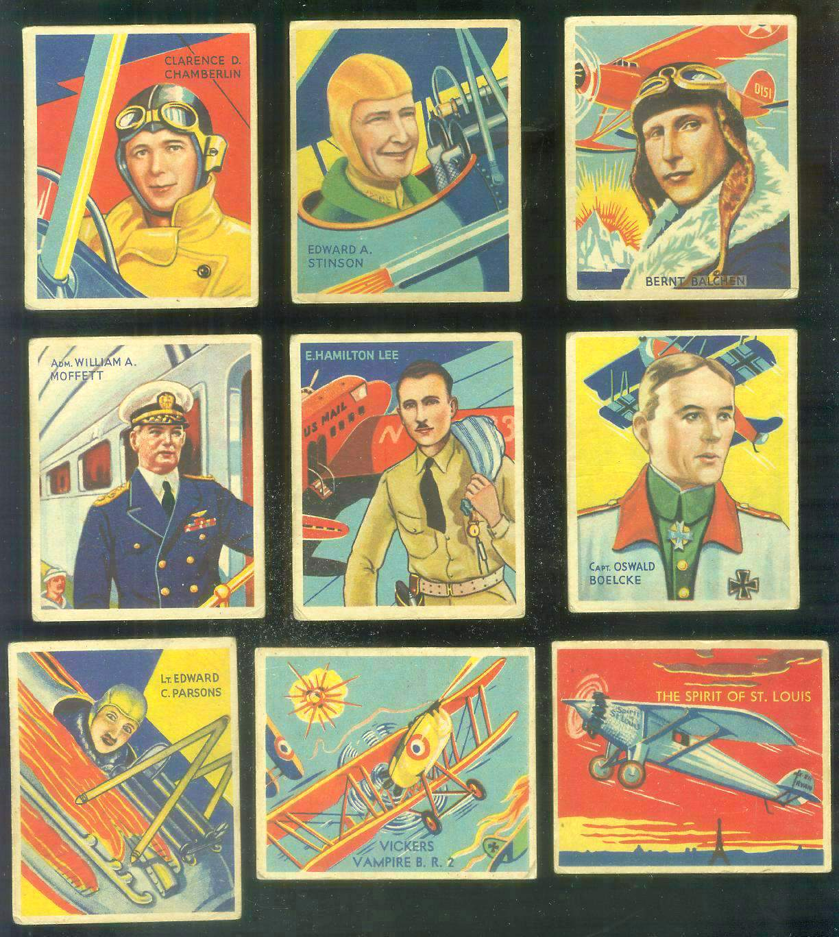1933-34 Sky Birds #.39 Edward A. Stinson Non-Sport cards value