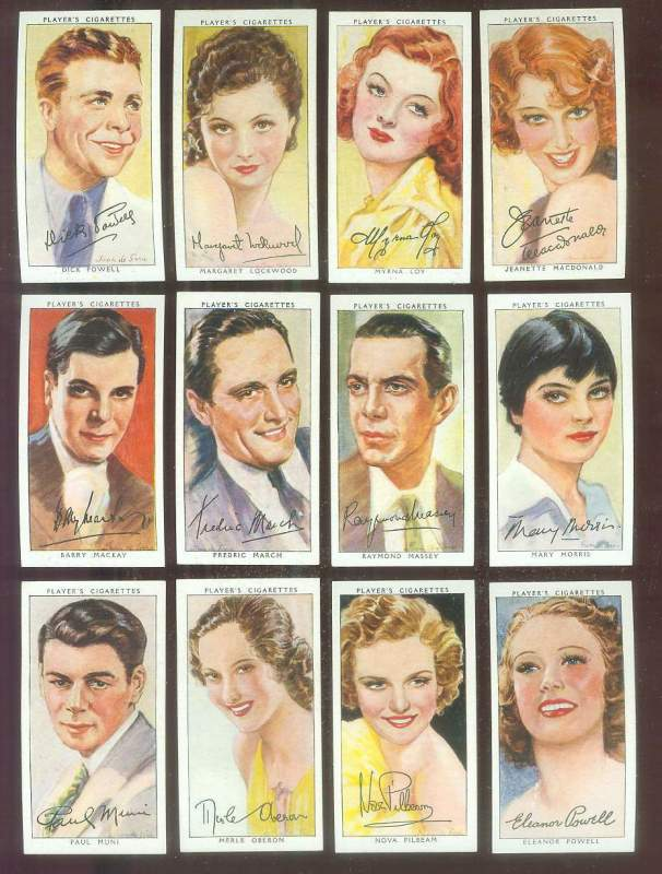 1938 Player's Film Stars #27 Barry Mackay Non-Sport cards value