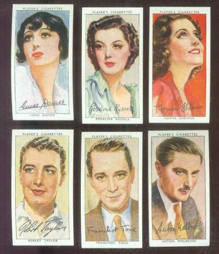 1938 Player's Film Stars #46 Robert Taylor Non-Sport cards value