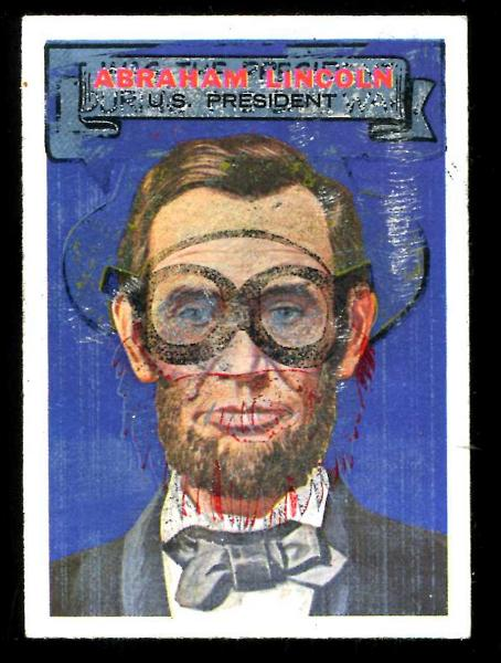 1967 Topps WHO AM I? #25 Abraham Lincoln n cards value