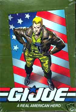1991 G.I. JOE - Sealed Wax Box (36 packs,12 cards/pack) Non-Sports cards value