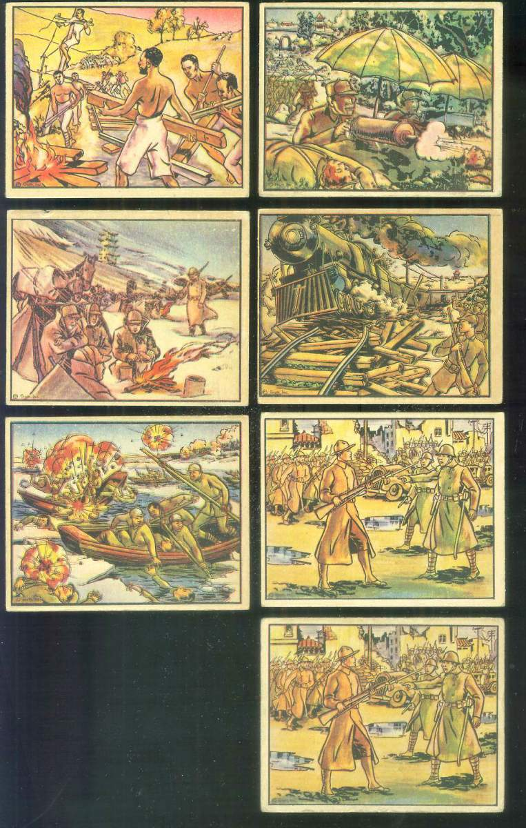1938 Horrors of War #120 Italian Artillery Attacks Amba Aradam Non-Sport cards value