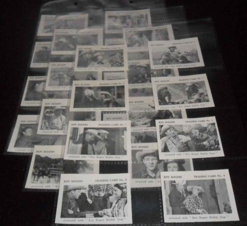 1955 Roy Rogers 'South of Caliente' - The Times - COMPLETE SET (24 cards n cards value
