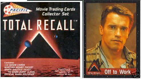 1990 Pacific TOTAL RECALL - FACTORY SET (110 Cards + Inserts) Non-Sport cards value
