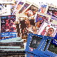 Vintage Postcards (80's-90's) - LOT (100) assorted w/Mickey Mantle,Jordan
