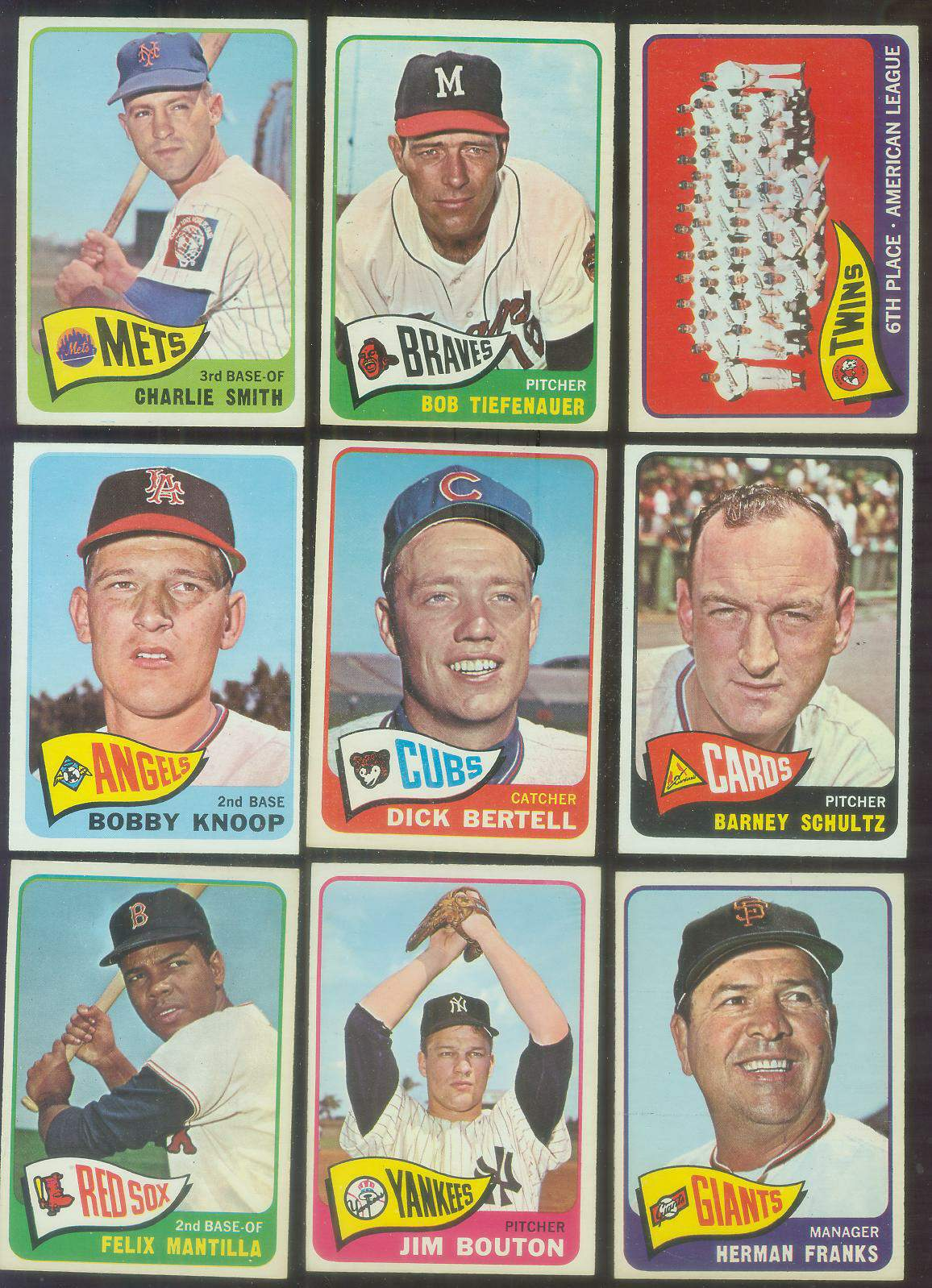 1965 O-Pee-Chee/OPC #.27 Dick Bertell (Cubs) Baseball cards value
