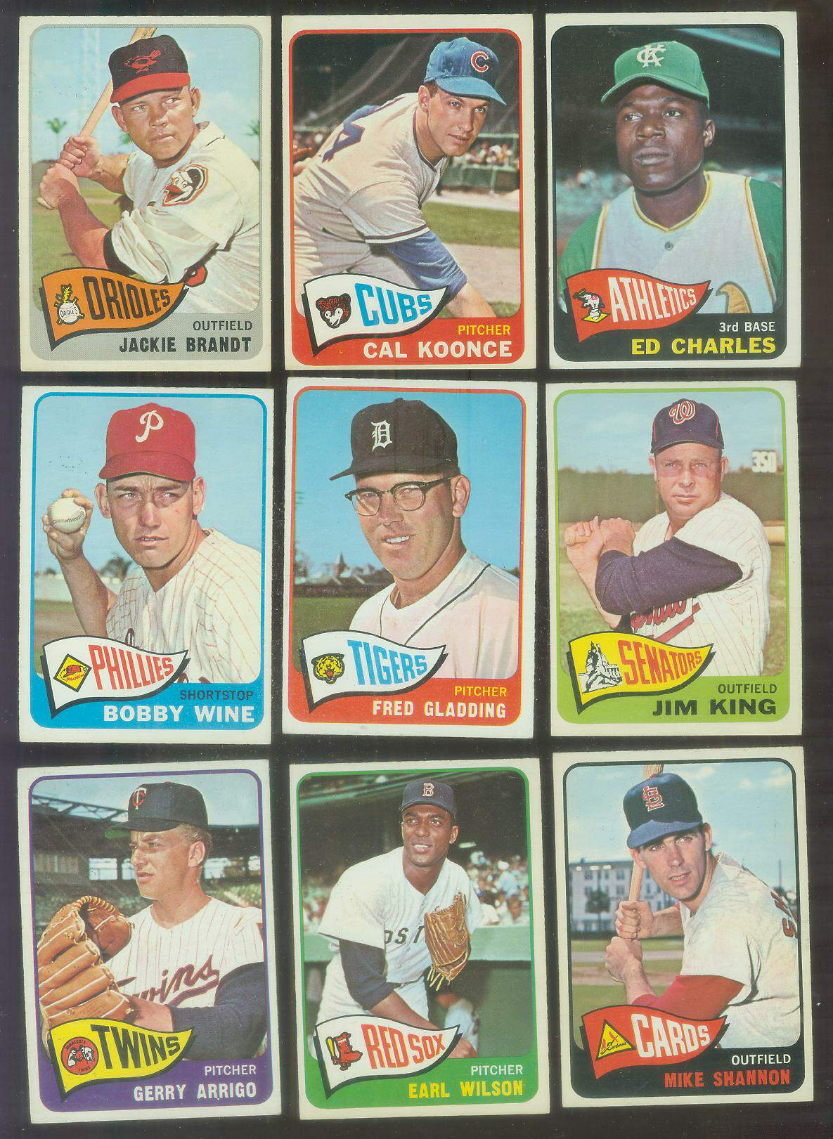 1965 O-Pee-Chee/OPC # 42 Earl Wilson (Red Sox) Baseball cards value