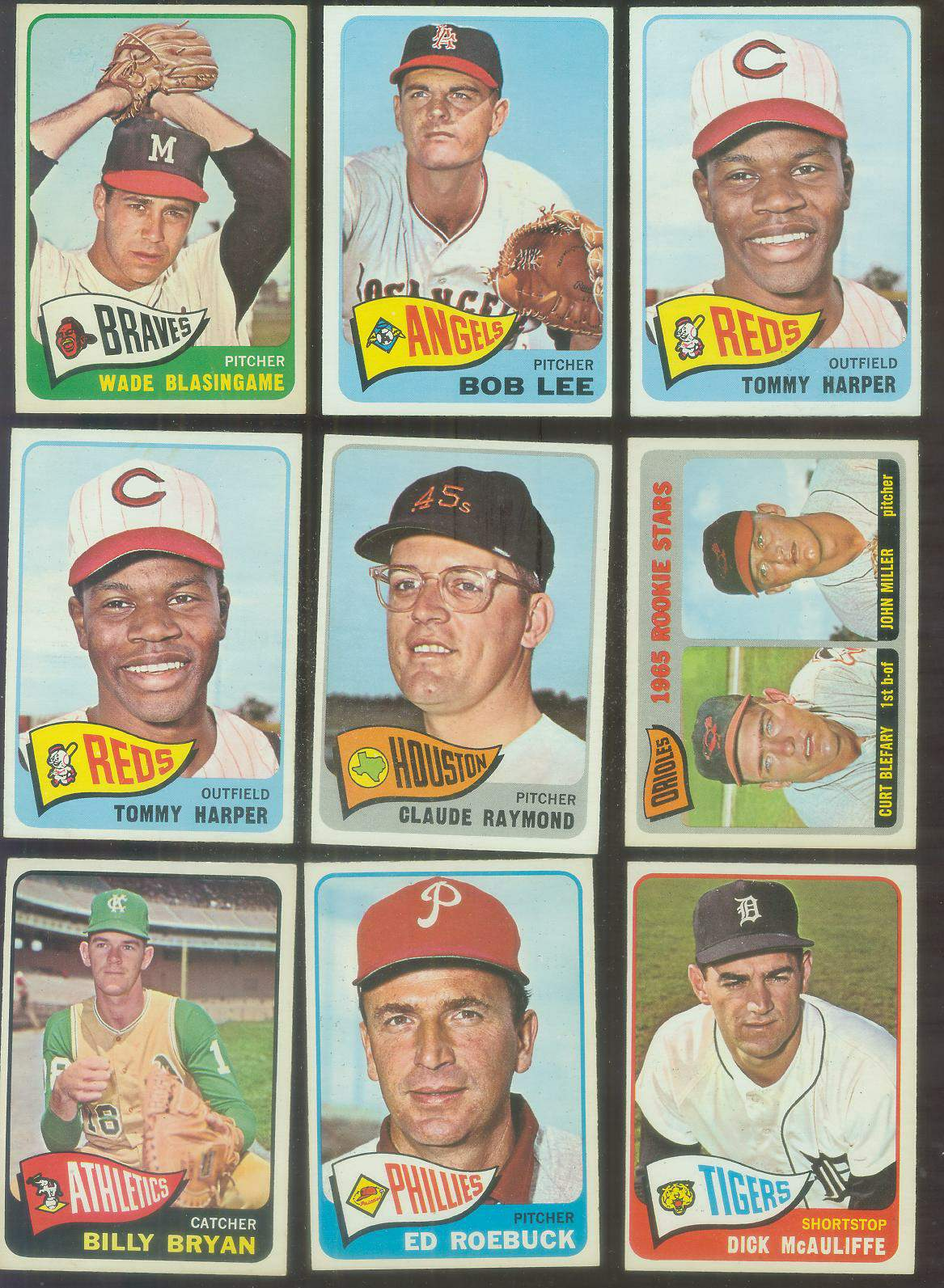 1965 O-Pee-Chee/OPC #.47 Tommy Harper Baseball cards value