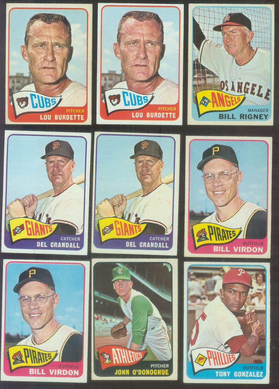 1965 O-Pee-Chee/OPC #.64 Lou Burdette Baseball cards value