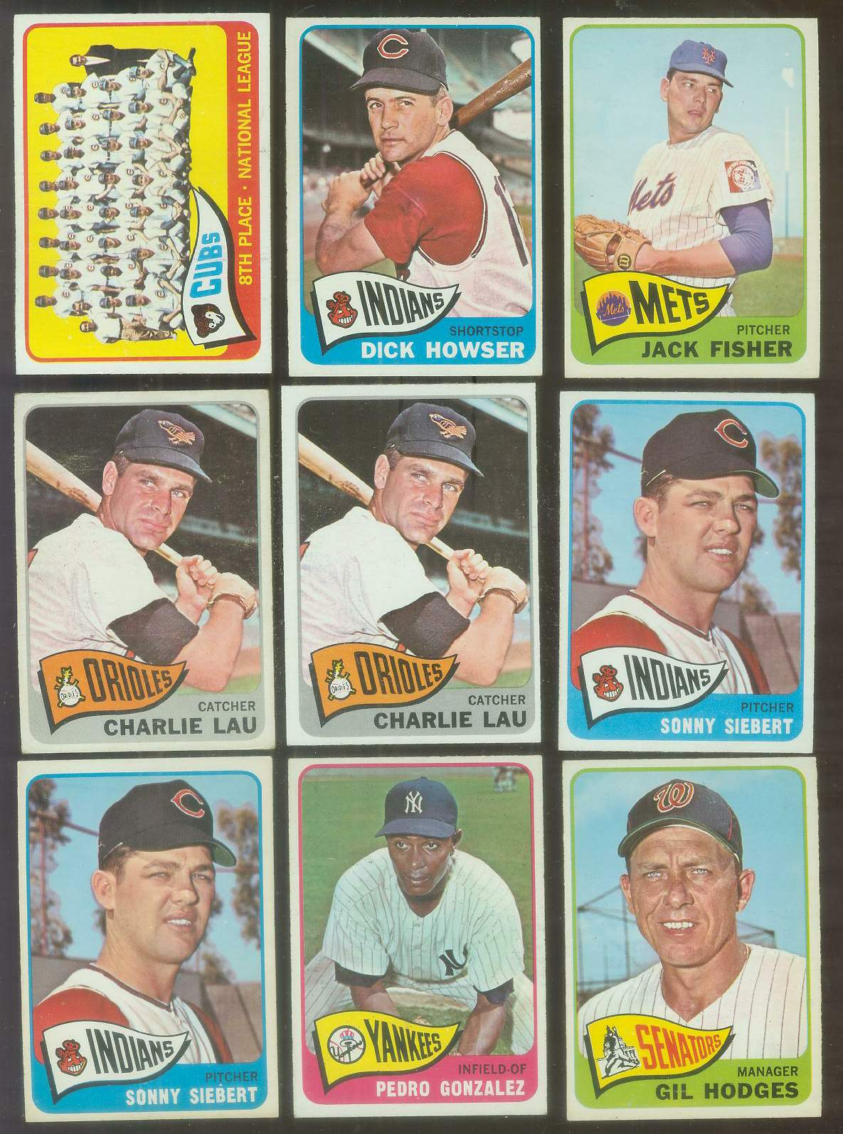 1965 O-Pee-Chee/OPC #.94 Charlie Lau Baseball cards value