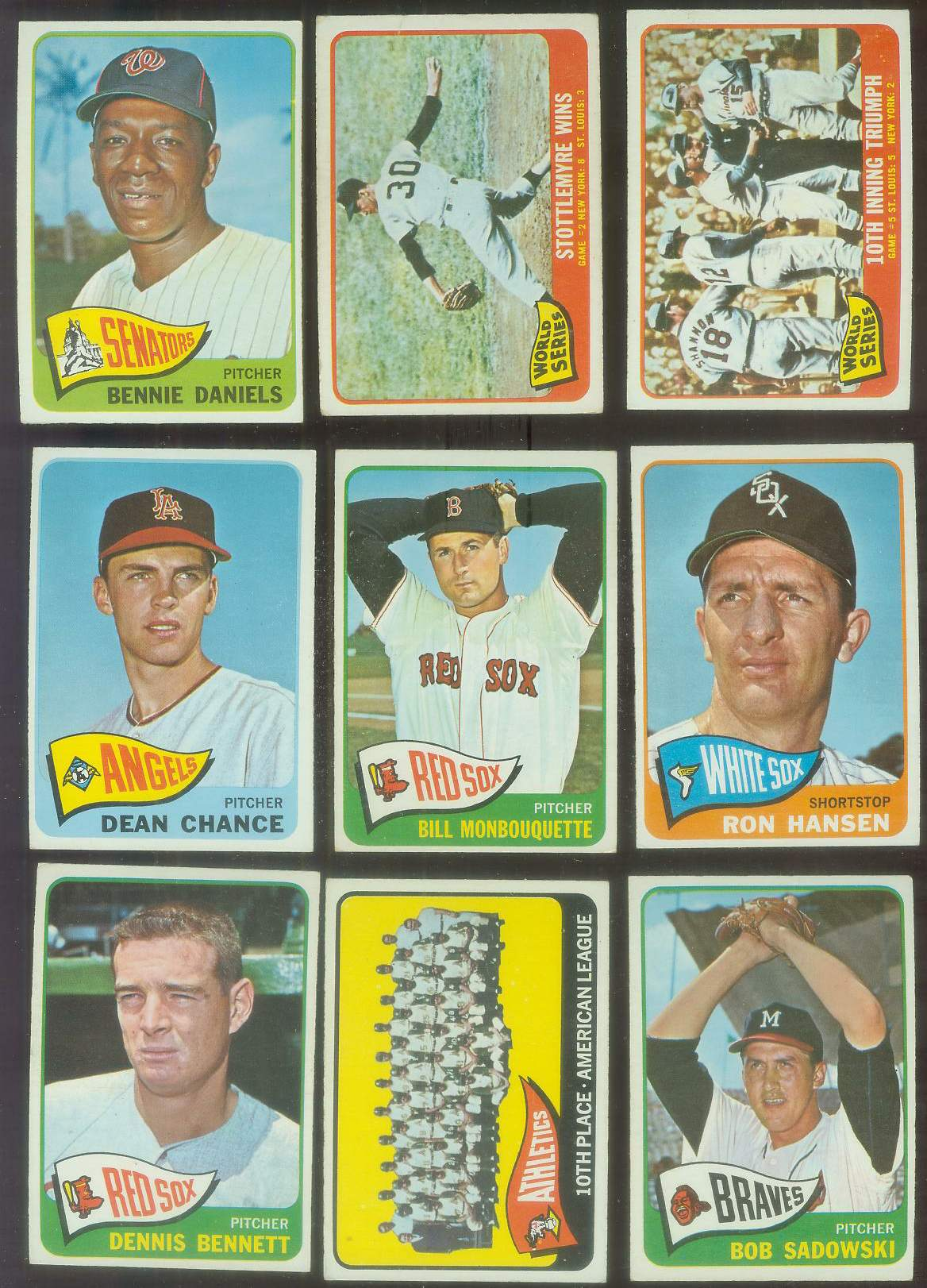 1965 O-Pee-Chee/OPC #140 Dean Chance (Angels) Baseball cards value
