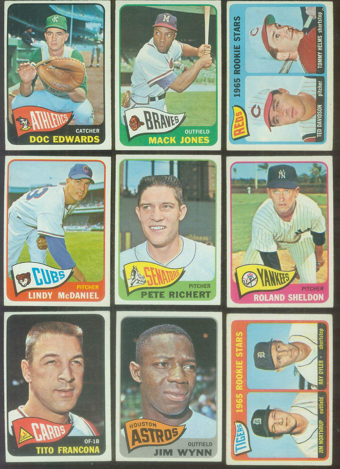 1965 O-Pee-Chee/OPC #256 Tito Francona (Cards) Baseball cards value
