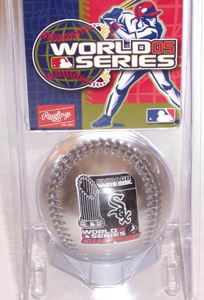 Chicago White Sox -  CASE 12 / 2005 WORLD SERIES CHAMPIONS SILVER Basebal Baseball cards value