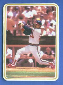 Reggie Jackson - 1985 Ceramic card by Armstrong (Angels) Baseball cards value