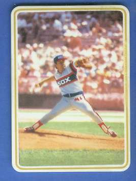 Tom Seaver - 1985 Ceramic card by Armstrong (White Sox) Baseball cards value