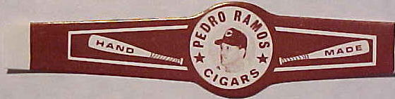 Pedro Ramos - 1960's CIGAR BANDS - Lot of (10) BANDS (Indians) Baseball cards value