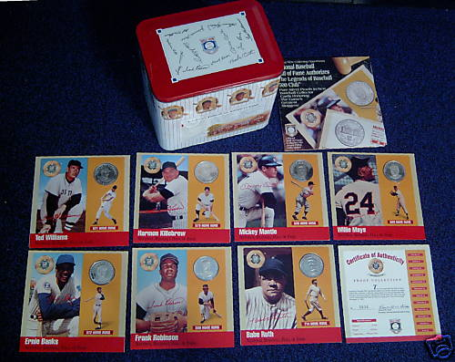 Harmon Killebrew - 1990 500 Club PURE SILVER Coin Baseball cards value