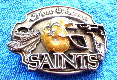 New Orleans Saints - LIMITED EDITION solid pewter BELT BUCKLE