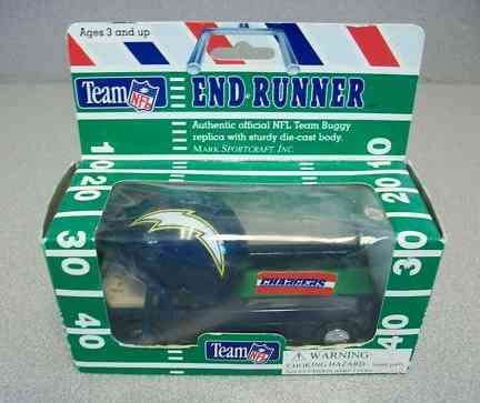 St. Louis RAMS - 1980 Team NFL End Runner Buggy DIE CAST REPLICA Baseball cards value