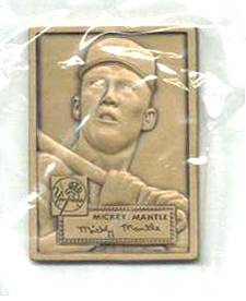 1986 Topps T MICKEY MANTLE - BRONZE PREMIUM (1952 Topps) Gallery.Champions Baseball cards value