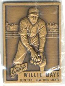 1987 Topps Traded WILLIE MAYS - BRONZE PREMIUM (1953 Topps) Baseball cards value
