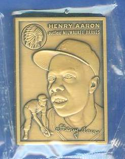 1989 Topps Traded HANK AARON - BRONZE PREMIUM (1954 Topps ROOKIE) Baseball cards value
