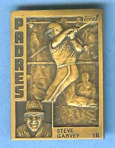 1984 Topps #.5 Steve Garvey - BRONZE GALLERY OF CHAMPIONS Baseball cards value
