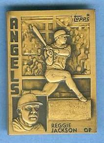1984 Topps #.6 Reggie Jackson - BRONZE GALLERY OF CHAMPIONS Baseball cards value