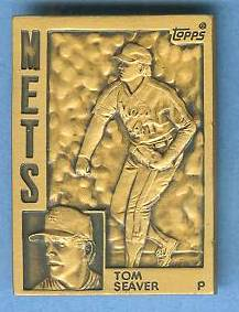 1984 Topps #12 Tom Seaver - BRONZE GALLERY OF CHAMPIONS Baseball cards value