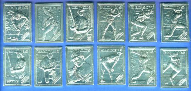 1988 Topps  GALLERY OF CHAMPIONS - COMPLETE SET of (12) Baseball cards value