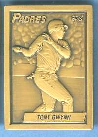1990 Topps #.3 Tony Gwynn - BRONZE GALLERY OF CHAMPIONS Baseball cards value