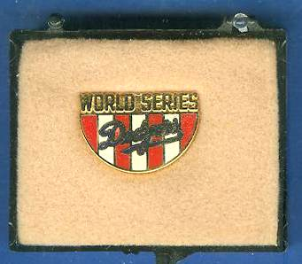 1988 Los Angeles DODGERS WORLD SERIES Press Pin (Phantom) Baseball cards value