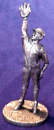 Tris Speaker - 1979 Signature Pewter Figurine (Yankees) Baseball cards value