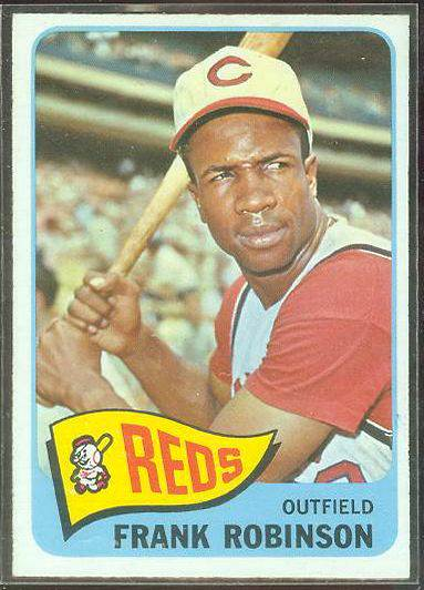 1965 O-Pee-Chee/OPC #120 Frank Robinson (Reds) Baseball cards value