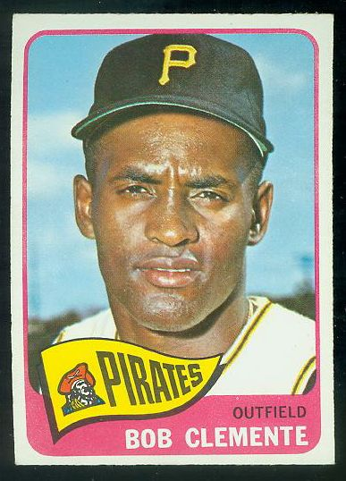 1965 O-Pee-Chee/OPC #160 Roberto Clemente (Pirates) Baseball cards value