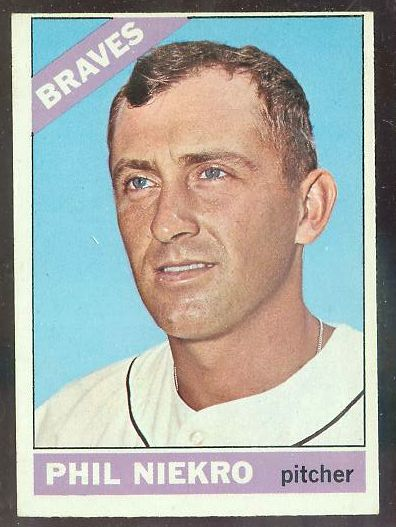 1966 O-Pee-Chee/OPC #.28 Phil Niekro (Braves) Baseball cards value