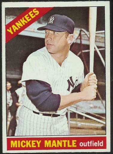 1966 O-Pee-Chee/OPC #.50 Mickey Mantle [#b] (Yankees) Baseball cards value