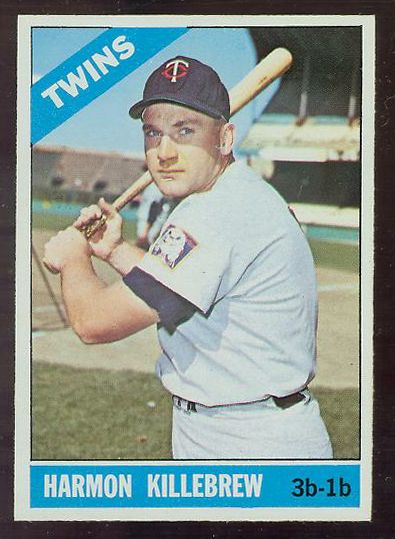 1966 O-Pee-Chee/OPC #120 Harmon Killebrew Baseball cards value