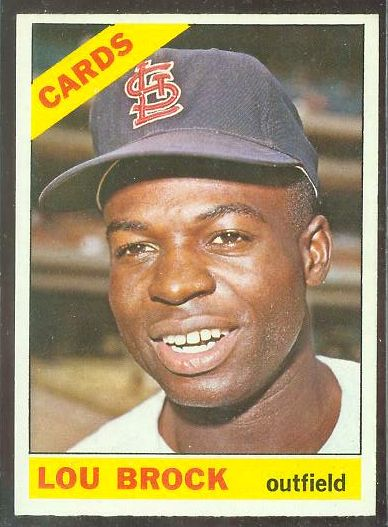 1966 O-Pee-Chee/OPC #125 Lou Brock (Cardinals) Baseball cards value
