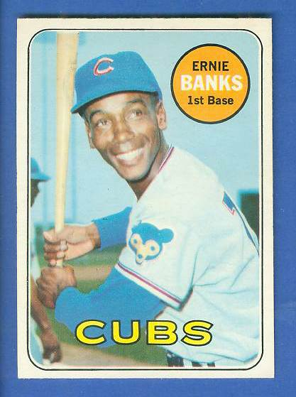 1969 O-Pee-Chee/OPC #.20 Ernie Banks [#a] (Cubs) Baseball cards value