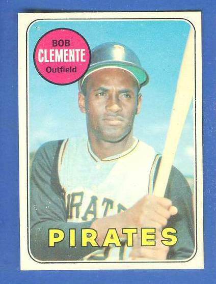 1969 O-Pee-Chee/OPC #.50 Roberto Clemente [#a] (Pirates) Baseball cards value