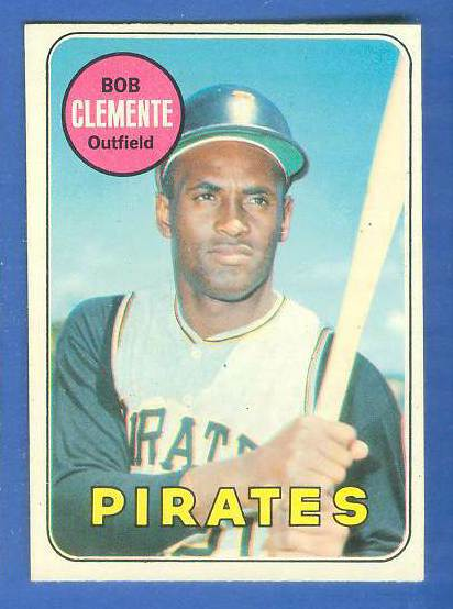 1969 O-Pee-Chee/OPC #.50 Roberto Clemente [#c] (Pirates) Baseball cards value