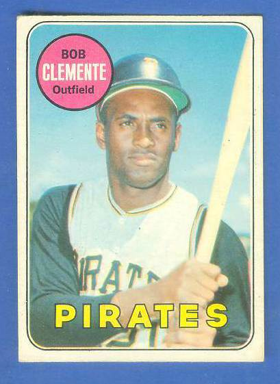 1969 O-Pee-Chee/OPC #.50 Roberto Clemente [#d] (Pirates) Baseball cards value