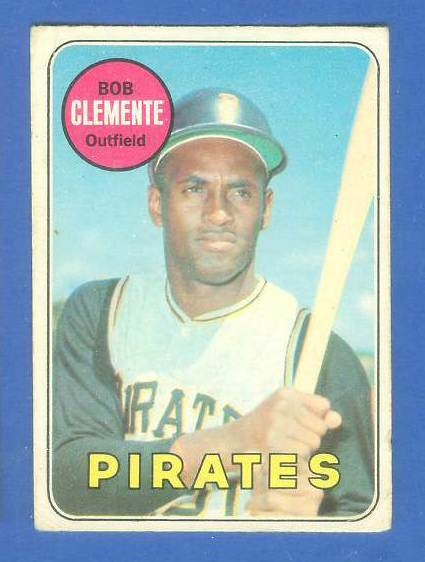 1969 O-Pee-Chee/OPC #.50 Roberto Clemente [#e] (Pirates) Baseball cards value