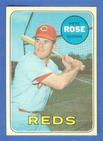 1969 O-Pee-Chee/OPC #120 Pete Rose [#a] (Reds) Baseball cards value