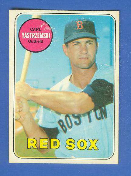 1969 O-Pee-Chee/OPC #130 Carl Yastrzemski [#b] (Red Sox) Baseball cards value
