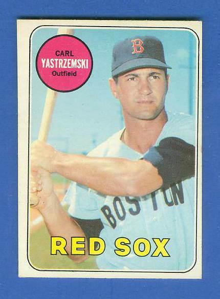 1969 O-Pee-Chee/OPC #130 Carl Yastrzemski [#c] (Red Sox) Baseball cards value