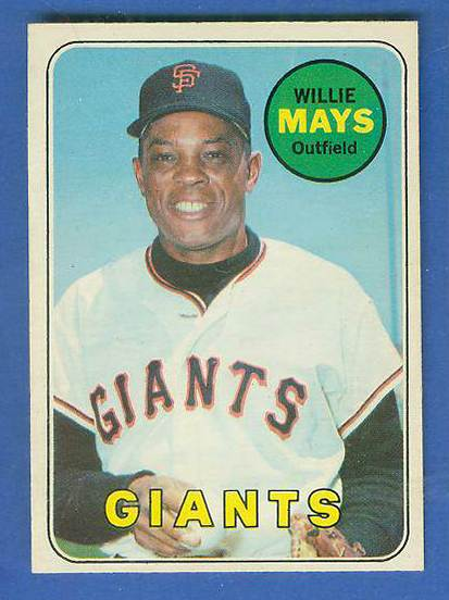 1969 O-Pee-Chee/OPC #190 Willie Mays [#a] (Giants) Baseball cards value