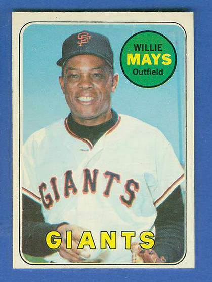 1969 O-Pee-Chee/OPC #190 Willie Mays [#b] (Giants) Baseball cards value